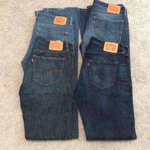 Levi's Mens Jeans 36x34 501 527